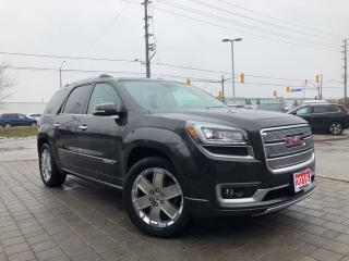 Used 2016 GMC Acadia Denali**Panoramic Sunroof**Navigation** for sale in Mississauga, ON