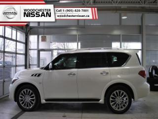 Used 2016 Infiniti QX80 4WD 4dr 8-Passenger  - $322.59 B/W for sale in Mississauga, ON