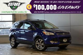 Used 2013 Ford Escape SEL - AWD, GPS, Sunroof, Parksense for sale in London, ON