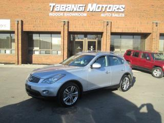 Used 2011 Infiniti EX35 NO ACCIDENT | NAVIGATION | 360 CAM | LEATHER | SUNROOF for sale in Mississauga, ON