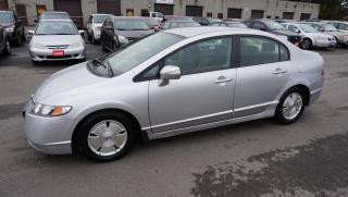 Used 2007 Honda Civic Hybrid Sedan Automatic Certified 2Yr Warranty for sale in Milton, ON