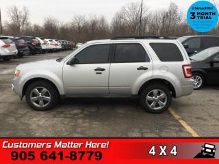 Used 2009 Ford Escape XLT  V6 4X4 CHROME ALLOYS REMOTE PWR GROUP for sale in St. Catharines, ON