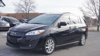 Used 2012 Mazda MAZDA5 GT * LEATHER * SUNROOF * HEATED SEATS for sale in Woodbridge, ON