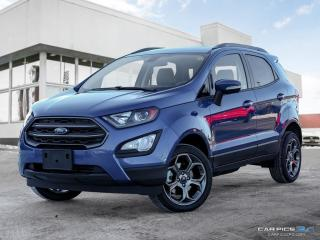 New 2018 Ford EcoSport SES for sale in Winnipeg, MB