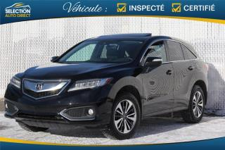 Used 2016 Acura RDX AWD 4dr Elite Pkg for sale in Ste-Rose, QC