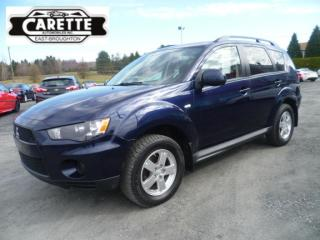 Used 2013 Mitsubishi Outlander AWD for sale in East broughton, QC