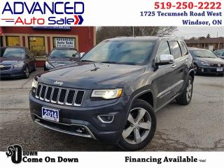 Used 2014 Jeep Grand Cherokee Overland for sale in Windsor, ON