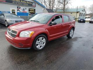 Used 2009 Dodge Caliber 116K auto safetied we fianance SXT for sale in Madoc, ON