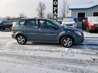 Used 2007 Pontiac Vibe 135K auto matrix powertrain safetied for sale in Madoc, ON