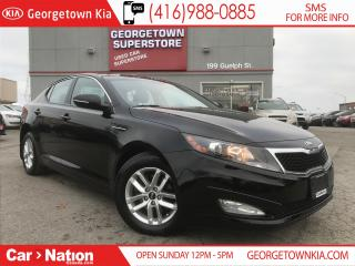 Used 2013 Kia Optima LX+ | ONE OWNER | PANORAMIC SUNROOF | for sale in Georgetown, ON