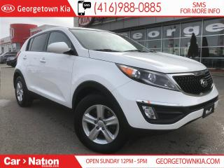Used 2015 Kia Sportage LX | WARRANTY | CLEAN CARPROOF | RARE FIND | for sale in Georgetown, ON