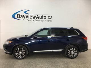 Used 2017 Mitsubishi Outlander GT - 7 PASS! SUNROOF! HTD LTHR! REVERSE CAM! ADAPTIVE CRUISE! for sale in Belleville, ON