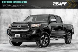 Used 2016 Toyota Tacoma 4x4 Double Cab V6 Limited 6A for sale in Orangeville, ON