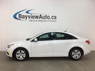 Used 2014 Chevrolet Cruze 1LT - ONSTAR! MY LINK! A/C! CRUISE! REMOTE START! for sale in Belleville, ON