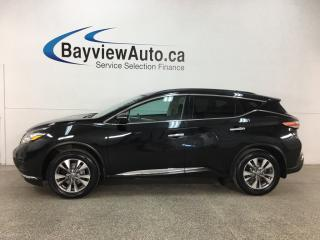 Used 2015 Nissan Murano SV - PANOROOF! PUSH START! BLUETOOTH! HTD SEATS! PWR LIFTGATE! for sale in Belleville, ON