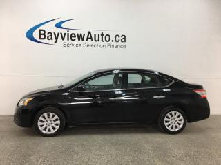 Used 2014 Nissan Sentra 1.8 SV - PUSH START! BLUETOOTH! CRUISE! A/C! PWR GROUP! for sale in Belleville, ON