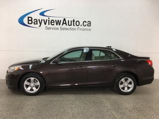 Used 2015 Chevrolet Malibu 1LT - ONSTAR! MY LINK! A/C! CRUISE! ALLOYS! for sale in Belleville, ON