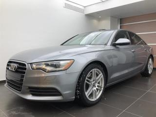 Used 2014 Audi A6 2.0T Progressiv for sale in Sherbrooke, QC