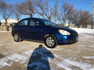 Used 2010 Hyundai Accent GL Nice Tires, Keyless Entry,Clean Can! for sale in Winnipeg, MB