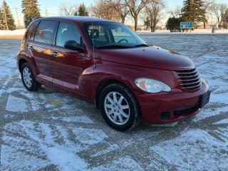 Used 2007 Chrysler PT Cruiser Alloy wheels/ New Tires / Spoiler / Candy Red for sale in Winnipeg, MB