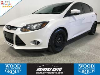 Used 2012 Ford Focus Titanium LEATHER, REMOTE START, WINTER TIRES for sale in Calgary, AB