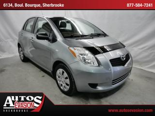 Used 2008 Toyota Yaris Hatch + A/c for sale in Sherbrooke, QC