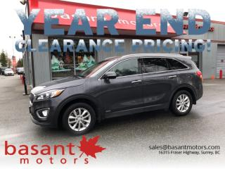 Used 2016 Kia Sorento Heated Seats, Fuel Efficient, Power Windows/Locks! for sale in Surrey, BC
