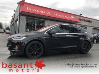 Used 2016 Tesla Model X 90D, Heated/Cooled Seats, Autopilot, Nav!! for sale in Surrey, BC