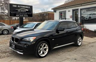 Used 2012 BMW X1 28i AWD PREMIUM SPORT PANO ROOF NO ACCIDENT for sale in Mississauga, ON