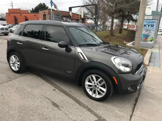 Used 2011 MINI Cooper Countryman S,AWD,PANORAMIC,SAFETY+3YEARS WARRANTY INCLUDED for sale in Toronto, ON