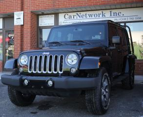 Used 2017 Jeep Wrangler Sahara for sale in Woodbridge, ON