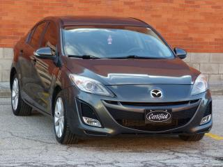 Used 2010 Mazda MAZDA3 GT,NO-ACCIDENTS,NAV,LEATHER,ALLOYS,FOGLIGHTS for sale in Mississauga, ON