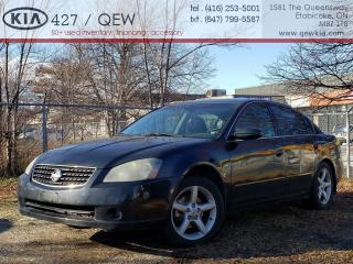 Used 2005 Nissan Altima 3.5 S  |     AS TRADED    | for sale in Etobicoke, ON