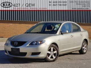 Used 2006 Mazda MAZDA3 GS  | AS TRADED | ONLY 58000 KM !!! for sale in Etobicoke, ON