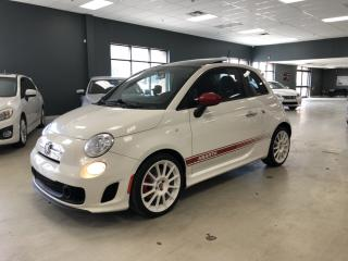 Used 2012 Fiat 500 ABARTH*MANUAL*RARE WHITE ON RED*NO ACCIDENTS*CERTI for sale in North York, ON