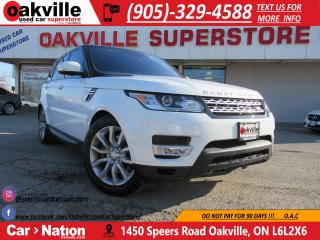 Used 2017 Land Rover Range Rover Sport HSE DYNAMIC | PANO ROOF | NAV for sale in Oakville, ON