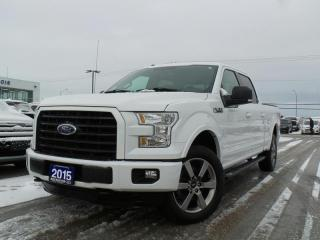 Used 2015 Ford F-150 XLT 5.0L V8 HEATED SEATS NAVIGATION for sale in Midland, ON