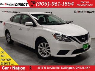 Used 2016 Nissan Sentra 1.8 SV| LOCAL TRADE| BACK UP CAMERA| for sale in Burlington, ON