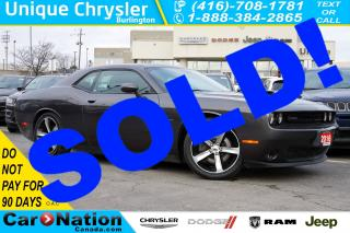 Used 2016 Dodge Challenger R/T SHAKER| 6-SPD M/T| SUPER TRACK PAK| SUNROOF for sale in Burlington, ON