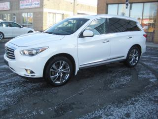 Used 2014 Infiniti QX60 NAVIGATION/DVD'S/DUAL SUNROOFS/360 CAM for sale in North York, ON