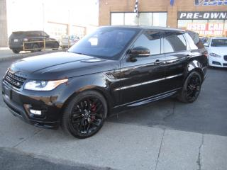 Used 2016 Land Rover Range Rover Sport AUTOBIOGRAPHY/BLACK EDITION/EXTRA 21SUMMER WHEELS for sale in North York, ON