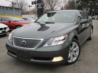 Used 2008 Lexus LS 600H LS 600H L HYBRID ~ NAVIGATION~80KMS~SUNROOF~AWD for sale in Burlington, ON