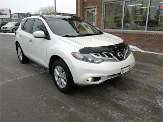 Used 2012 Nissan Murano LE*CAMERA*PANORAMIC ROOF*HTD SEATS*AWD*BLUETOOTH* for sale in Winnipeg, MB