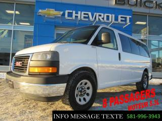 Used 2014 Chevrolet Express 8 Passagers, 5.3l for sale in Ste-Marie, QC