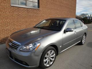 Used 2007 Infiniti M35x navi-backup cam-DVD-full loaded for sale in Oakville, ON
