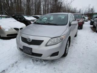 Used 2009 Toyota Corolla CE for sale in Cookstown, ON