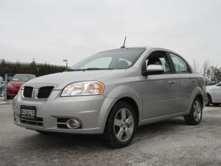 Used 2009 Pontiac Wave G3 SE / LOCAL CAR / SNOW TIRES INCL for sale in Newmarket, ON