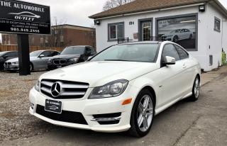 Used 2012 Mercedes-Benz C250 C 250 COUPE LOW KMS NO ACCIDENT for sale in Mississauga, ON