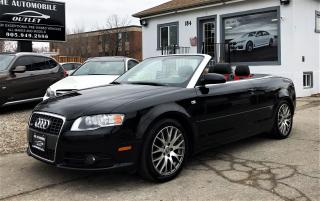 Used 2009 Audi A4 S-LINE AWD CABRIOLET CONVERTIBLE AWD NO ACCIDENT for sale in Mississauga, ON