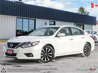 Used 2018 Nissan Altima 2.5 SV,REMOTE START,REARVIEW CAM,PWR S/ROOF,HEATE/ for sale in Barrie, ON